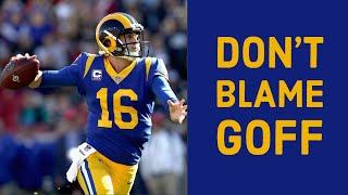 NFL Film Breakdown: Why Jared Goff Isn't the Problem in LA