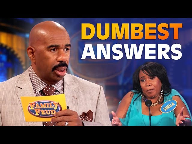 DUMBEST ANSWERS EVER! Steve Harvey is SPEECHLESS!