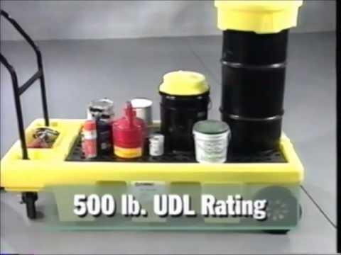 BARR Spill Control Poly Spillcart