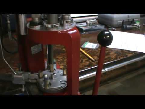 Part 3 of 3 How to customize Hornady bullet feeding die for lead bullets and custom feeding tube.MPG