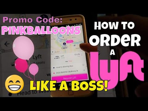 How to Order a Lyft-New rider step-by-step instructions