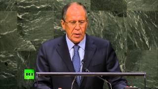 Лавров в ООН обрушился на Украину и США