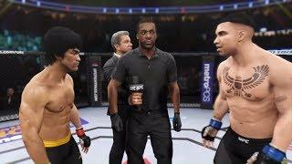 Bruce Lee vs. Drake (EA Sports UFC 2) - CPU vs. CPU