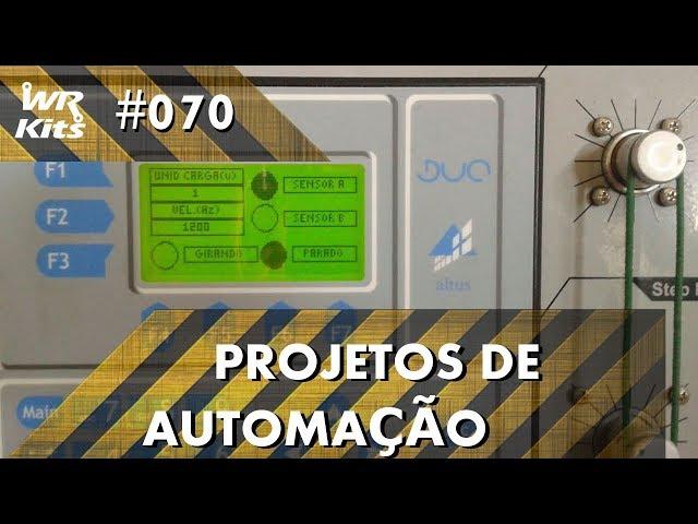 TRÁFEGO DE CARGAS ENTRE DOIS BLOCOS COM CLP ALTUS DUO | Projetos de Automação #070