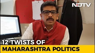 NDTV Newsroom Live: Maharashtra Politics - 12 Twists In The Tale Of Maharashtra