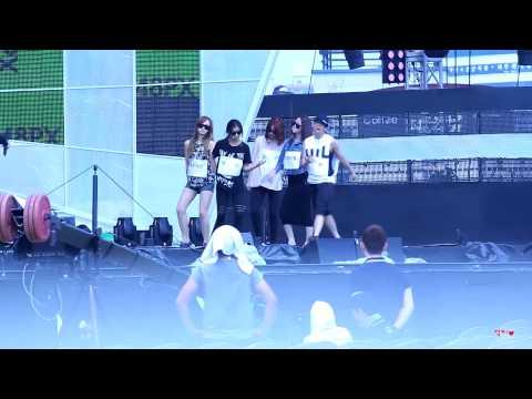 [130810]속초음악대향연 음악중심 f(x) - Rum Pum Pum Pum, 에프엑스 - 첫 사랑니[Rehearsal]