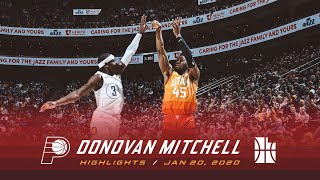 Highlights: Donovan Mitchell — 25 points, 3 assists