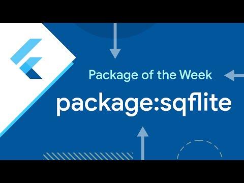sqflite (Flutter Package of the Week)
