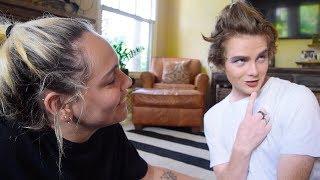Transforming Boyfriend Into A Drag Queen!