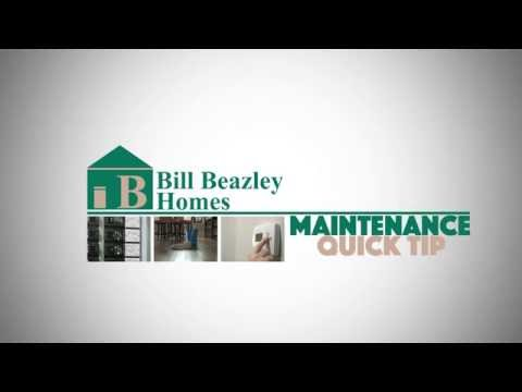 Bill Beazley Homes Maintenance Quick Tips | Caulking