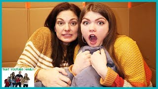 24 Hours In Box Fort / That YouTub3 Family I Family Channel