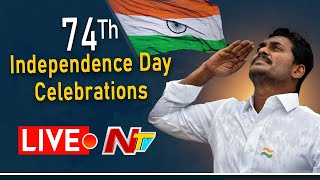 Live: 74th Independence Day Celebrations, AP CM YS Jagan h..