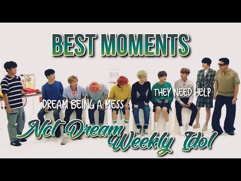 BEST MOMENTS; NCT DREAM on Weekly Idol [180905]