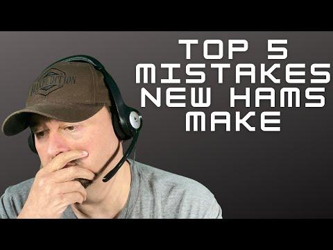 Top 5 Mistakes New Hams Make - Ham Radio