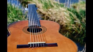 Relaxing music, classical guitar, beautiful soothing music, reading music