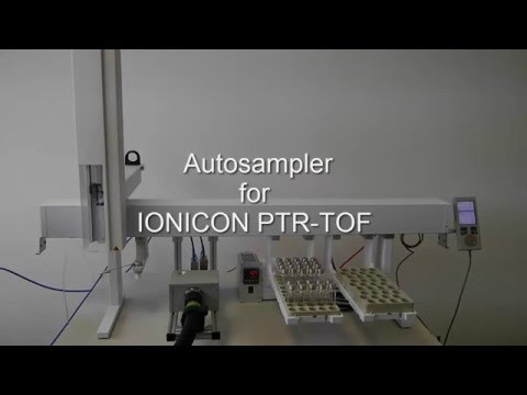 Autosampler for IONICON PTR-TOFMS