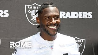 The Raiders Shouldn't Be Surprised About Antonio Brown's Helmet Antics | The Jim Rome Show