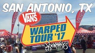 [MATURE] Vans Warped Tour 2017 at The AT&T Center San Antonio, Texas! (7/29/17)