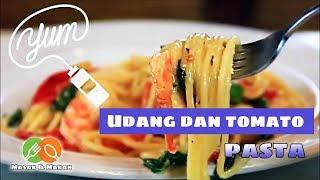 Resipi | Pasta Udang & Tomato | Mudah & Simple | Ep: 1