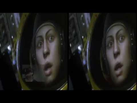Alien Isolation Oculus Rift DK2 Zeiss Head Tracking TriDef 3D DX 11 : Intro level pt1