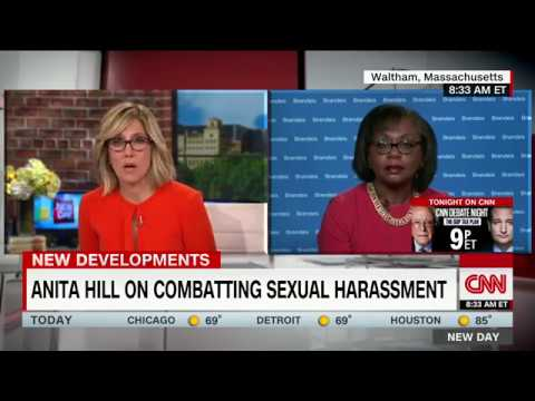 Anita Hill speaks on Weinstein, Trump scandals