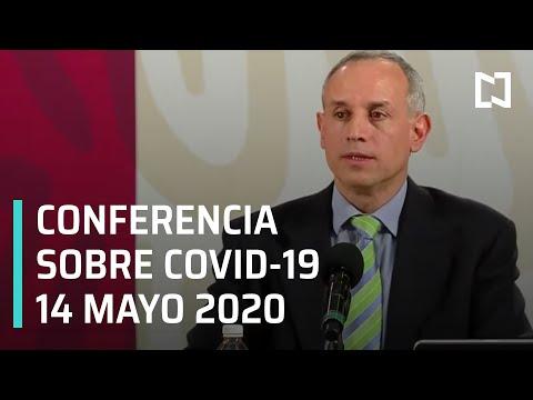 Conferencia Covid-19 en México - 14 mayo 2020