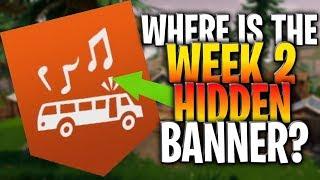 Where Is The Season 9 Week 2 Secret Banner?  (Week 2 Banner)