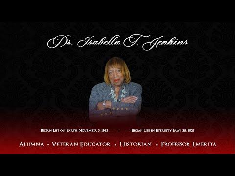 Isabella T. Jenkins Memorial Service