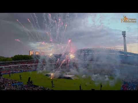 The 2018 Opening Ceremony fireworks