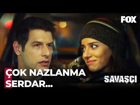 Yıldız Trafikte Serdar'ın Elini Tuttu - Savaşçı 22. Bölüm