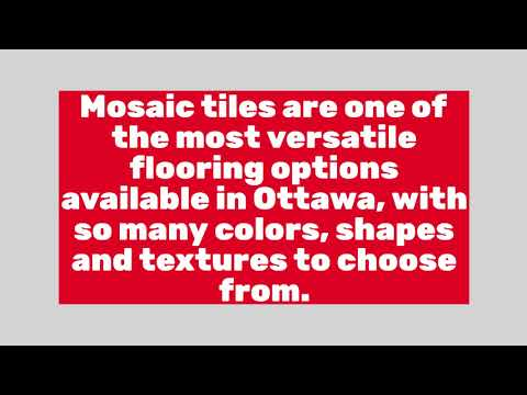 Mosaics and Backsplash - Ottawa Tile