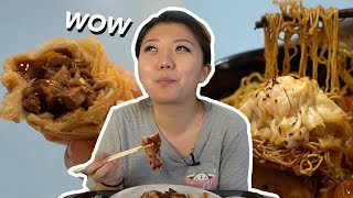 Singapore MICHELIN STREET FOOD - Trying CHEAP HAWKER FOOD in Chinatown!
