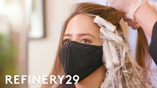 I Bleached My Hair Dirty Blonde | Hair Me Out | Refinery29