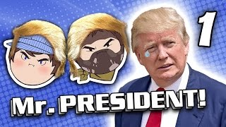 Mr. President: Stumping the Trump - PART 1 - Steam Train