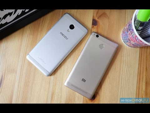 Битва смартфонов: Meizu M3s mini против Xiaomi Redmi 3s