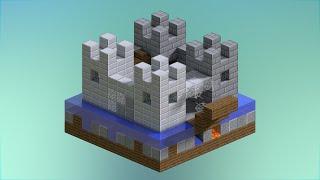 5 mini Castle Designs   Minecraft