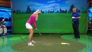 School of Golf: Drop It Before You Pop It (Weight Transfer Drill) | Golf Channel