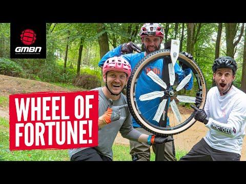MTB Wheel Of Fortune Challenges With Ben Deakin, Chopper Fielder, & Blake Samson