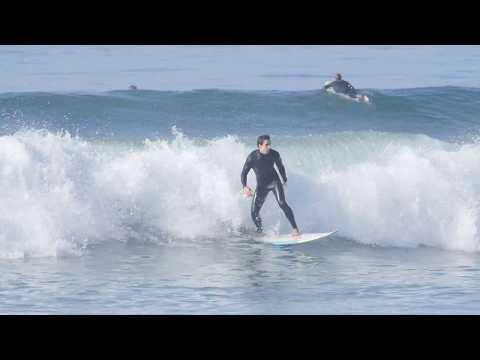 Surfing 17th Street in HB - Jan 5th, 2018 (RAW)