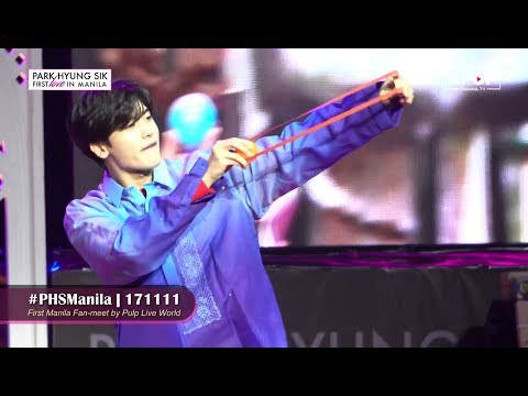 《FEATURED》 Park Hyung Sik's First Love in Manila!