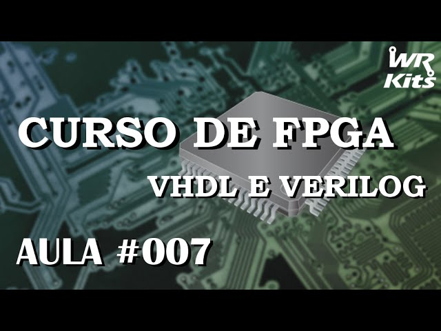 LATCH COM ENABLE EM VHDL | Curso de FPGA #007
