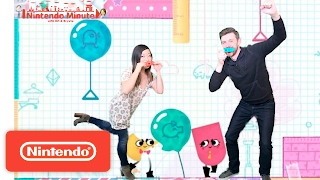 Snipperclips - Cut it out, together! New Puzzles – Nintendo Minute
