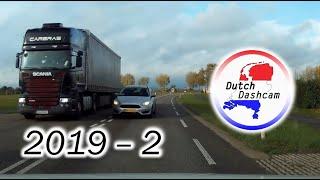 Dashcam Compilatie Nederland 2019 #2