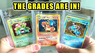 *IS MY CHARIZARD POKEMON CARD GEM MINT?!* My BGS Graded Cards Are Back!