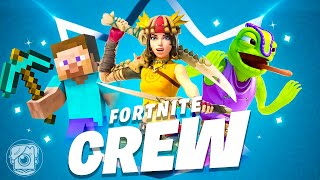 We Made the 5 BEST Fortnite CREW SKINS EVER!