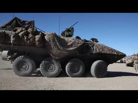 U.S. Marine Corps shows off capabilities of its new Amphibious Combat Vehicles