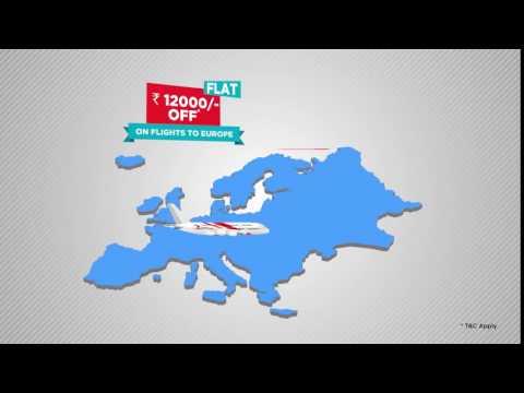 MakeMyTrip's Cashless Travel Carnival - Intl. Flight Offers