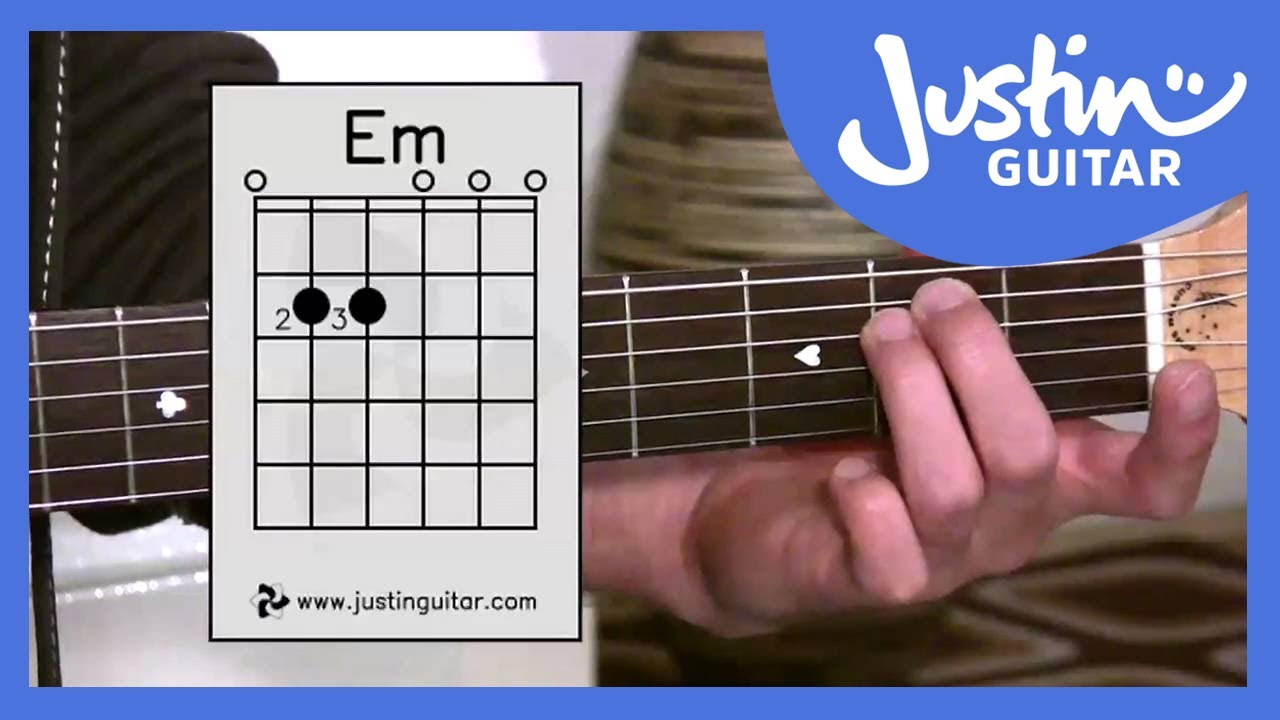the emin chord guitar lesson bc 122 guitar for beginners stage 2 youtube. Black Bedroom Furniture Sets. Home Design Ideas