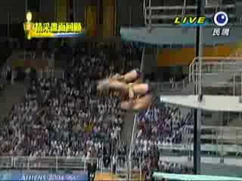 2004雅典奧運中國跳水失誤