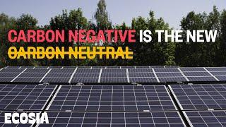 """Carbon neutral"" is not enough: Ecosia has built its own solar plants"